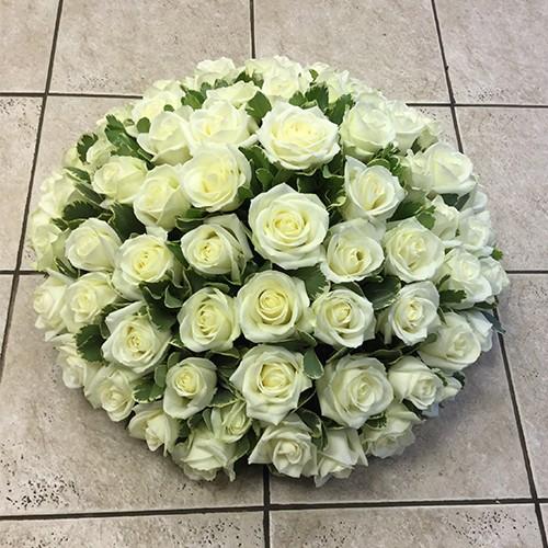 White Rose Loose Posy